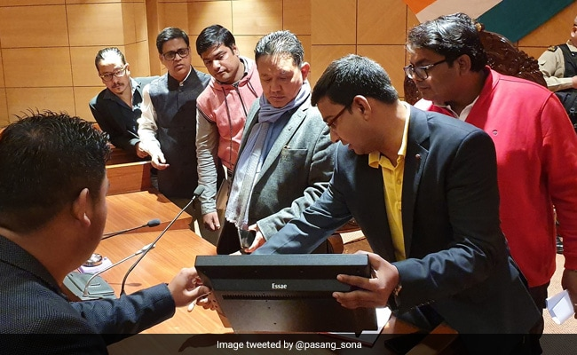 Arunachal Assembly To Go Paperless With E-Vidhan Project
