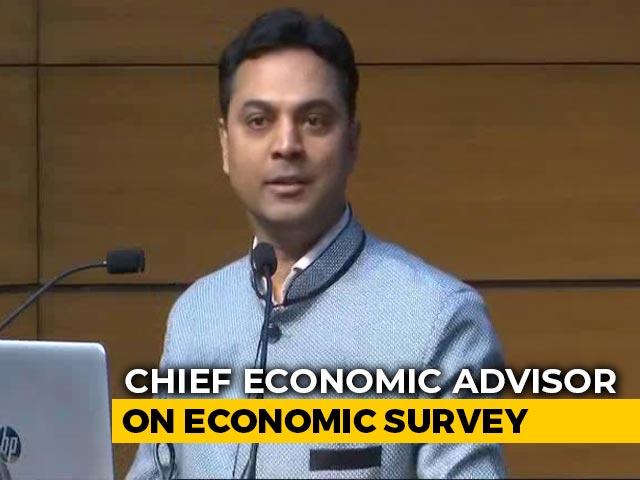 "Video : ""Economic Survey's Theme Is Wealth Creation,"" Says Chief Economic Adviser"
