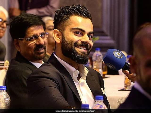 Virat Kohli Lights Up BCCI Annual Awards Night With A Bright Smile