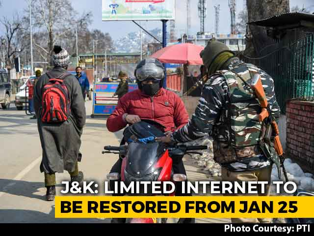 Video : 2G Mobile Internet Services To Be Restored In Kashmir After Nearly 6 Months