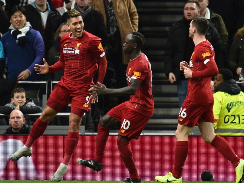 Premier League: Record-Breaking Liverpool Roll Over Tottenham To Streak 16 Points Clear