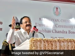 'Time To Revisit Our History Textbooks': Vice President M. Venkaiah Naidu