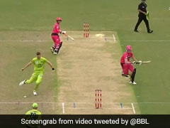 "Watch: Chris Morris Exhibits ""Elite Footwork"" To Run Out Batsman In BBL Game"