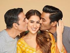 <I>Atrangi Re</I>: Akshay Kumar Joins Dhanush And Sara Ali Khan, Who 'Can't Believe Her Luck'