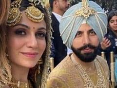 Trending: Inside Pics From Gurdas Maan's Son Gurickk And Actress Simran Kaur Mundi's Wedding