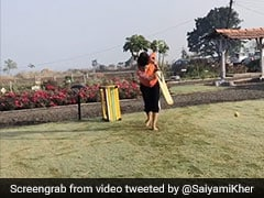 "Watch: Yuvraj Singh Impressed With Saiyami Kher's ""Front Foot"" Drive"