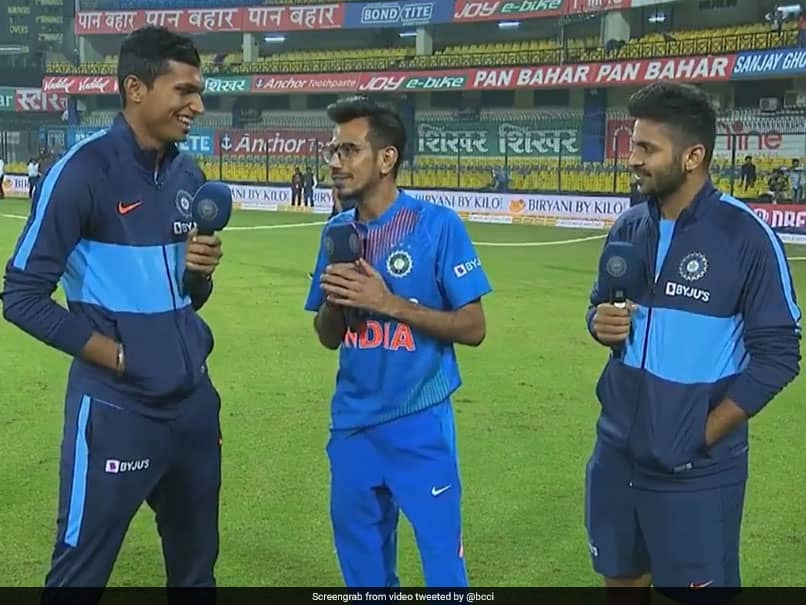"""Yorker Queen"": Yuzvendra Chahals Cheeky Dig At India Pacer Post Indore T20I. Watch Video"