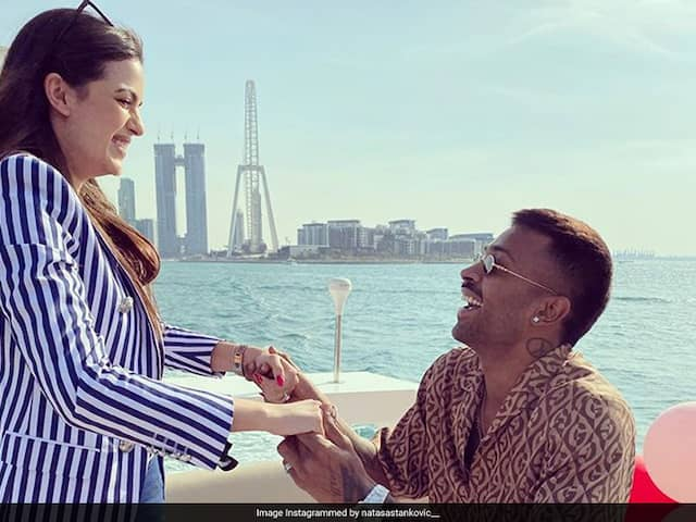 """Pleasant Surprise"": Virat Kohli Congratulates Hardik Pandya On Engagement With Natasa Stankovic"