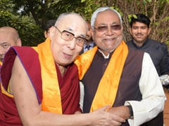 Nitish Kumar's Warm Welcome To Dalai Lama As He Visits Patna