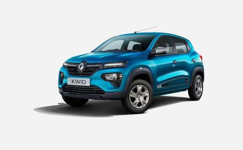 The Renault Kwid is offered in a total of 12 variants across two engine options