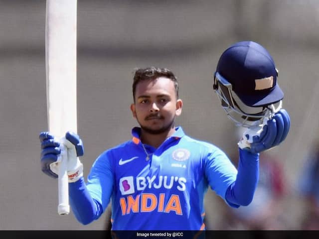 Prithvi Shaw Named In Indias Squad For New Zealand ODIs, Sanju Samson Replaces Injured Shikhar Dhawan In T20Is