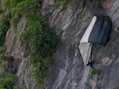 BASE Jumper Left Hanging After Parachute Gets Caught In Thailand Cliff