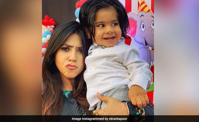 Ekta Kapoor Compares Son Ravie's Look To Radhe From Salman Khan's Tere Naam