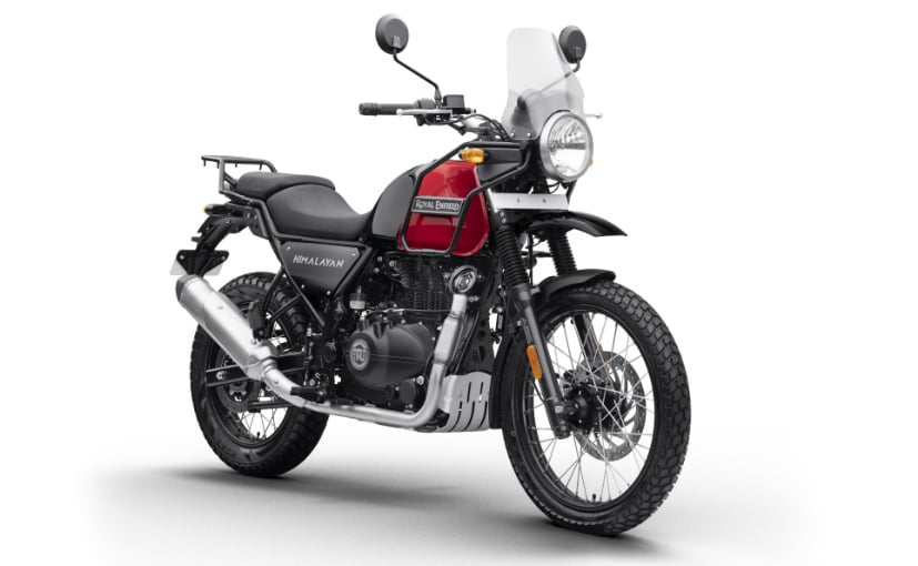 The Royal Enfield Himalayan gets a bunch of feature updates as well
