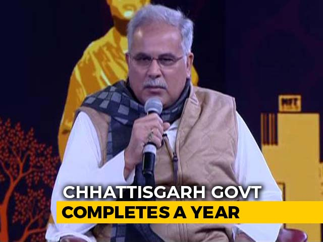 Video : 'Chhattisgarh Saw Growth Amid Slowdown': Bhupesh Baghel To NDTV