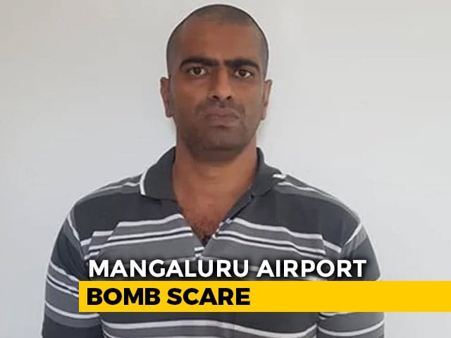 Video : Man Suspected Of Placing Bomb At Mangaluru Airport Surrenders Before Cops