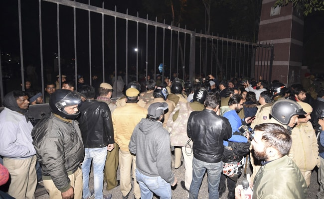 'Scuffle Among Students, Not Where We Were Posted': Police On JNU Attack