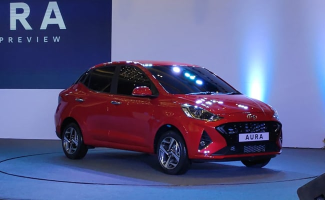 The Hyundai Aura replaces the Xcent in the Indian market.