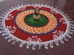 Happy Pongal: Kolam, Rangoli Designs For Pongal Festival