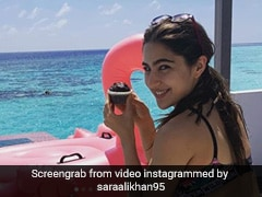 Sara Ali Khan's 'Breakfast For 1' In Maldives Is All Things Healthy, Yummy And Tropical