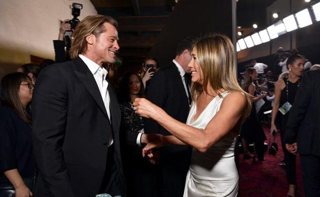 SAG Awards 2020: Brad Pitt Stopped Everything To Catch Jennifer Aniston's Speech Backstage