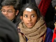 JNU Students' Union President Aishe Ghosh Accuses ABVP Of Beating Up Student
