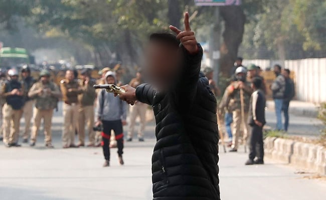 Class 12 Student Who Fired At Jamia Protest Charged With Attempted Murder