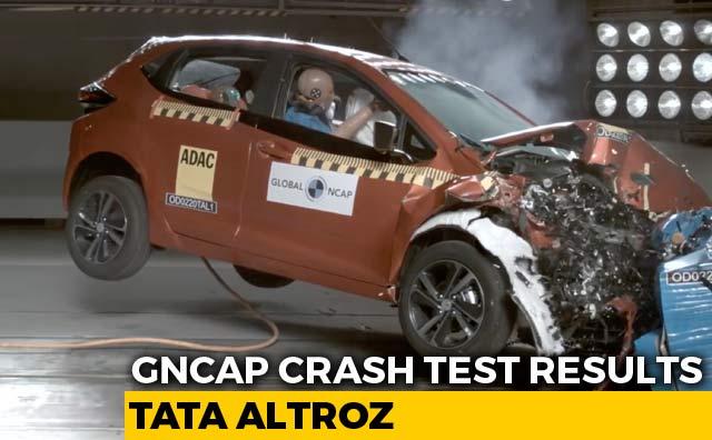 Video : Tata Altroz Gets 5 Stars In Crash Test