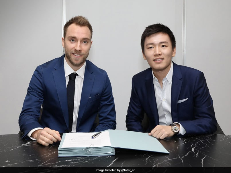 Inter Milan sign Eriksen from Tottenham