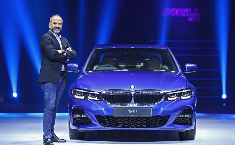 Mr. Rudratej Singh, President and CEO, BMW Group India with the BMW 3 Series