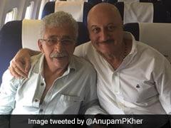 In Naseeruddin Shah vs Anupam Kher, Sushma Swaraj's Husband Rage-Tweets