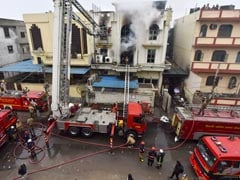 One Dead In Fire At Paper Factory In East Delhi, 32 Engines At Spot