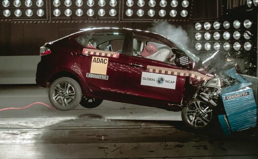 The Tata Tiago/Tigor did not undergo the UN95 side impact crash tests