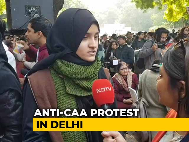 Video : Women, Queer Community Protest Against Citizenship Law In Delhi