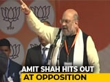 Video : Amit Shah's Dare To Rahul Gandhi, Mamata Banerjee On Citizenship Act