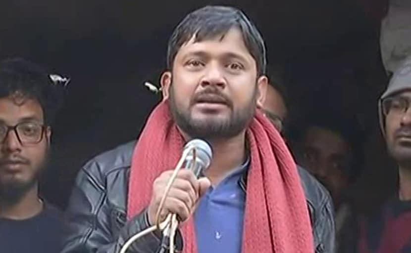 Stones Thrown At Left Leader Kanhaiya Kumar's Convoy Near Arrah In Bihar