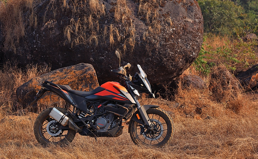 Bikes like the KTM 390 Adventure are manufactured in India by Bajaj Auto