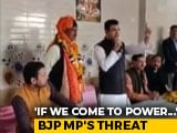 "Video : ""No Shaheen Bagh Protesters, Mosques On State Land"": BJP MP's Promise"
