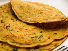 Quick Breakfast Recipe: Make 5-Minute Spicy Chilla Paratha With This Easy Recipe Video