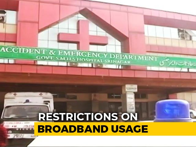 Video : Internet Back At Kashmir Children's Hospital, But No Access To Doctors