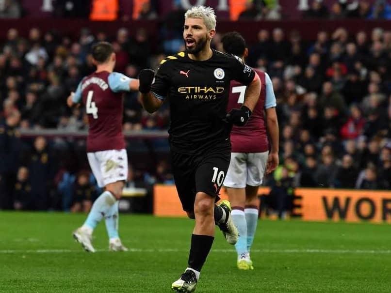 Aston Villa vs Manchester City: Sergio Aguero Creates History As Manchester City Crush Aston Villa