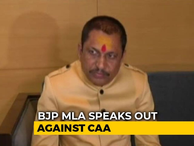 Video : Country Shouldn't Be Divided Over Religion: BJP MLA On Citizenship Law