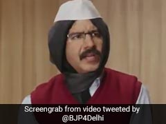 """Burnt?"" BJP Jabs Arvind Kejriwal With ""<i>Paap Ki Adalat</i>"" Spoof Video"