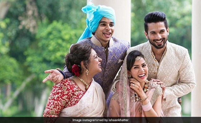 Watch: Ishaan Khatter Gets Reprimanded By Mother Neelima Azim For Hiding Her Chocolate