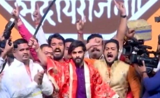 Mega Raj Thackeray Rally In Mumbai To Rebrand Party, Induct Son Into MNS