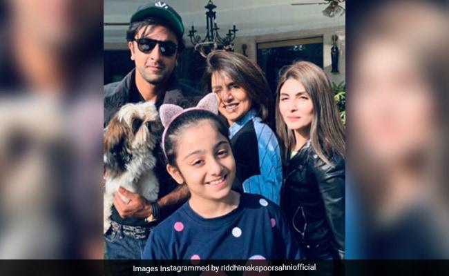 Inside Ranbir Kapoor's Sunday Fam-Jam With Neetu Kapoor, Riddhima And Niece Samara