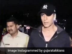 फोटोग्राफर्स को गच्चा देकर भाग खड़े हुए अक्षय कुमार, देखें मजेदार Video