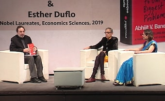Watch: Prannoy Roy In Conversation With Abhijit Banerjee, Esther Duflo