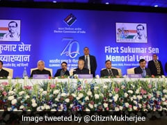 Election Body Organises Memorial Lecture To Honour Its First Chief Sukumar Sen