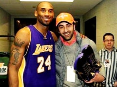 Rishi Kapoor Posts A Pic Of Son Ranbir With 'Legend' Kobe Bryant